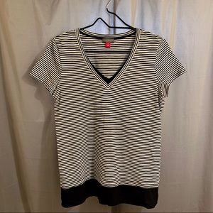 NWOT Vince Camuto Striped Tee